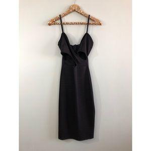 Fashion Nova black dress